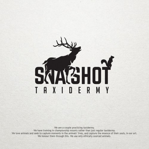 Taxidermy logo