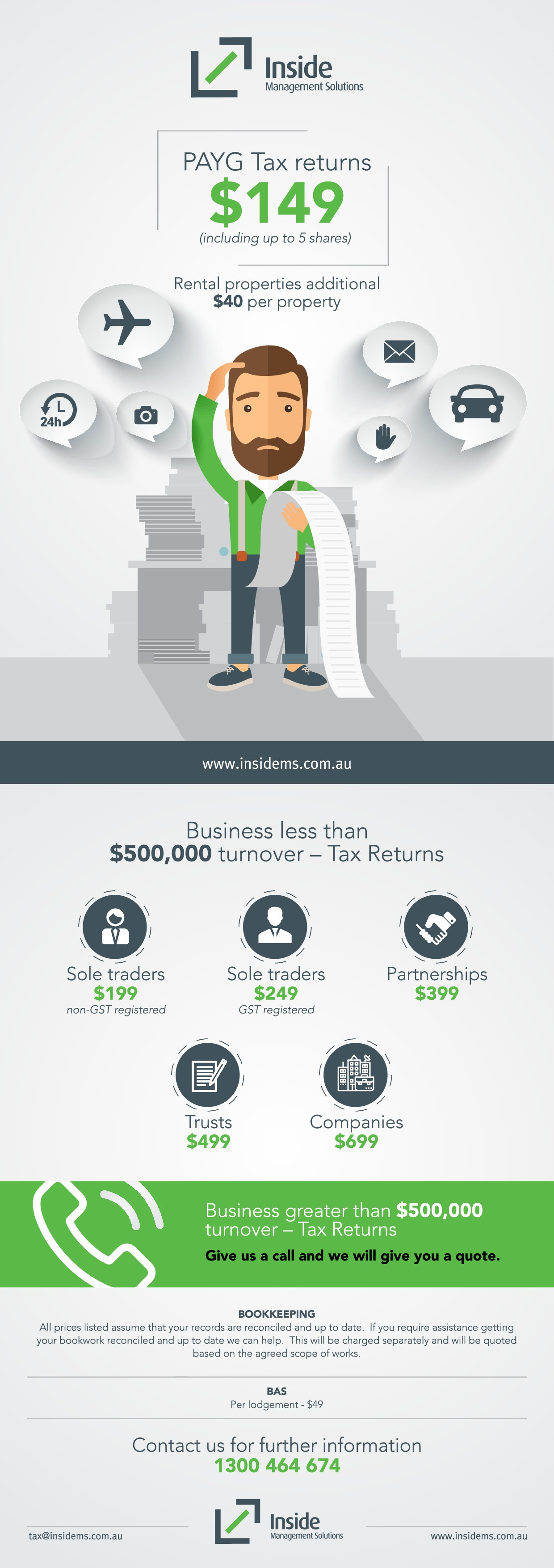 Tax Flyer - It can be Fun