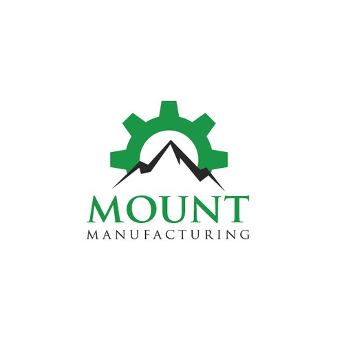 Mount Manufacturing Logo, creative design needed! Show your skills!