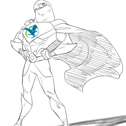 superhero eagle
