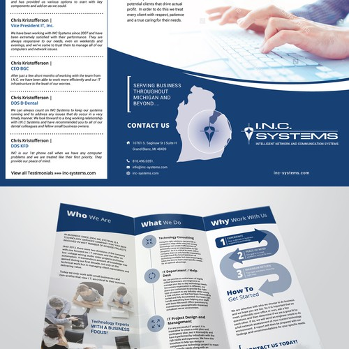 Brochure for INC Systems