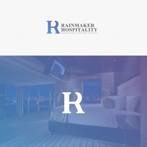 Rainmake Logo Design