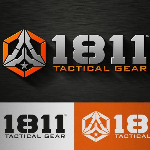 Logo design for 1811 Tactical Gear