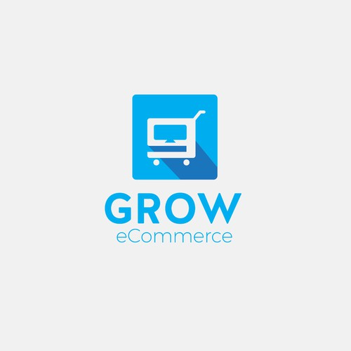 Grow eCommerce logo design