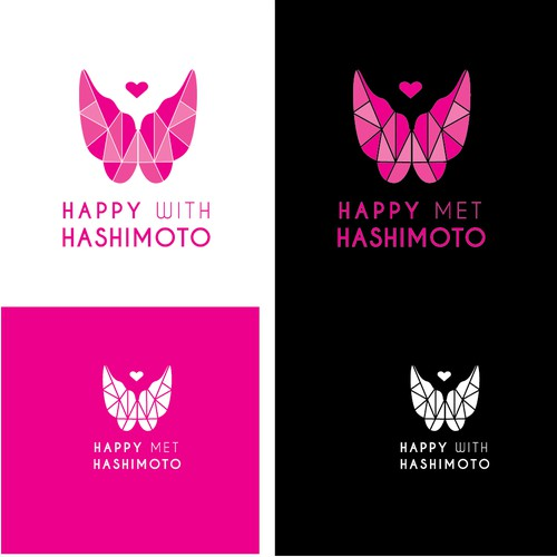 Happy With Hashimoto - Logo Design