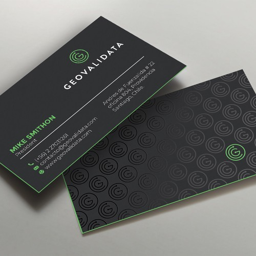 New Business Card Desing for a Technology Company