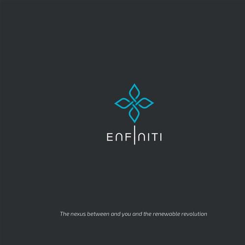 enfiniti  - renewable (wind and sun) energy company.
