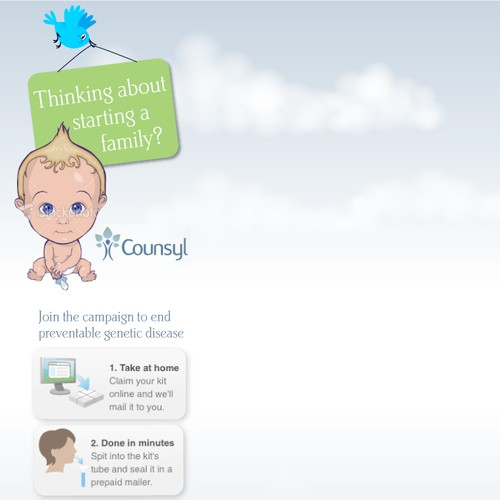 Twitter design for Harvard/Stanford pregnancy related startup