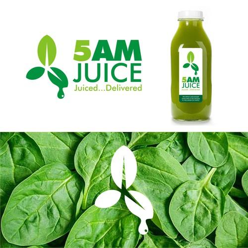 Juice Brand Logo Design