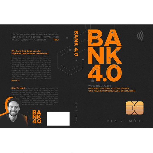Book cover design for BANK 4.0