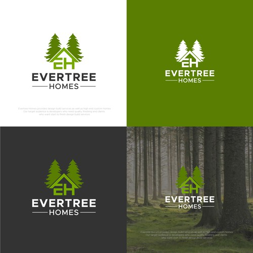Strong logo concept for EverTree homes