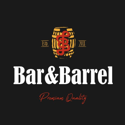 Barrel logo design