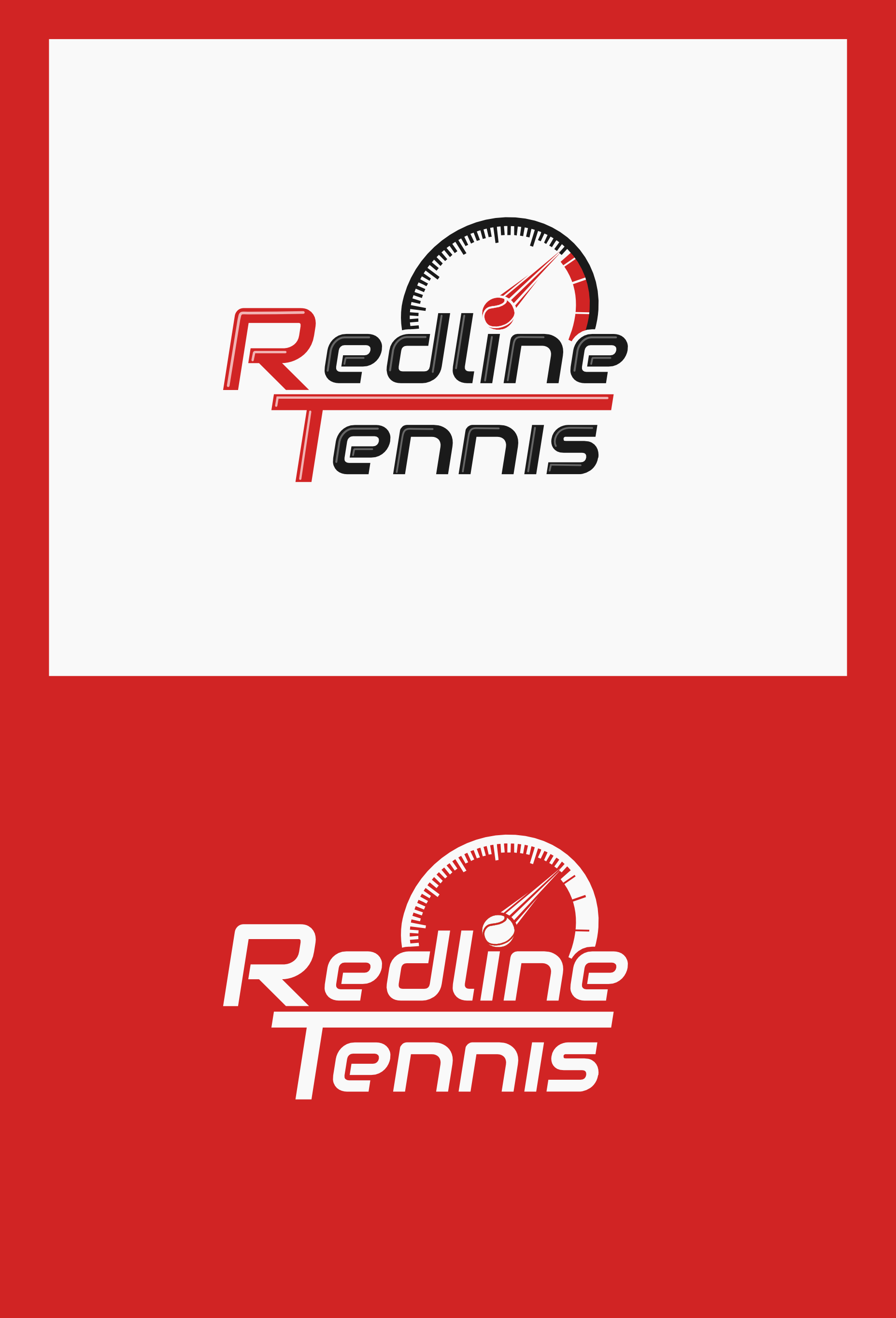Create a modern and attractive design for an Australian tennis company.