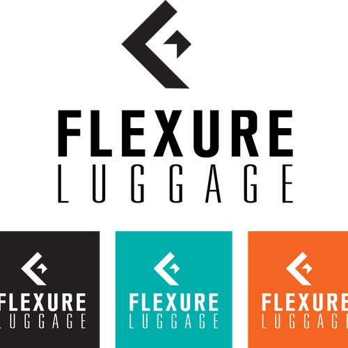 Create a logo for an exciting and innovative luggage startup