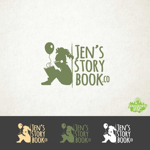 Jen's Storybook.co Logo