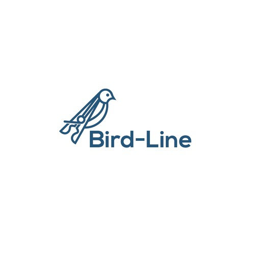 CLEAN logo concept for BIRDLINE