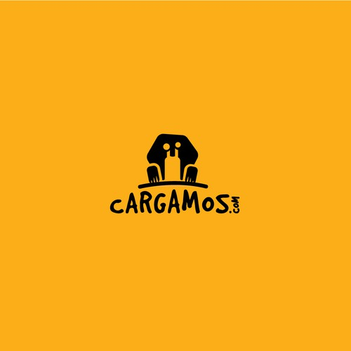Logo for cargo delivery app