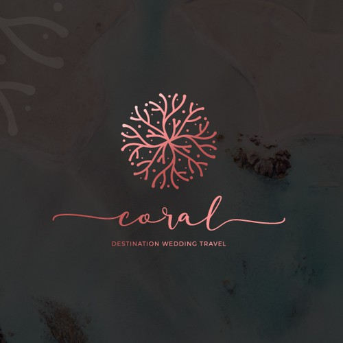 Check out Coral Logo design!
