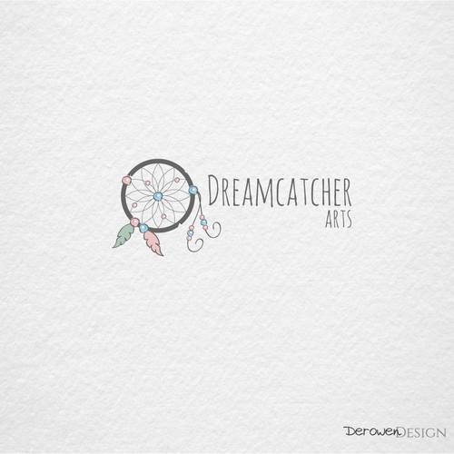 Dreamcatcher in pastel colors.
