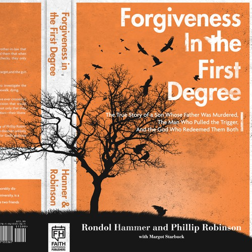 Bold book cover about murder and forgiveness