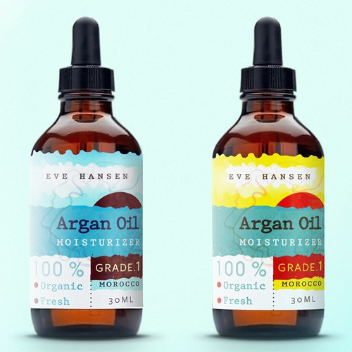 Argan Oil Label Design