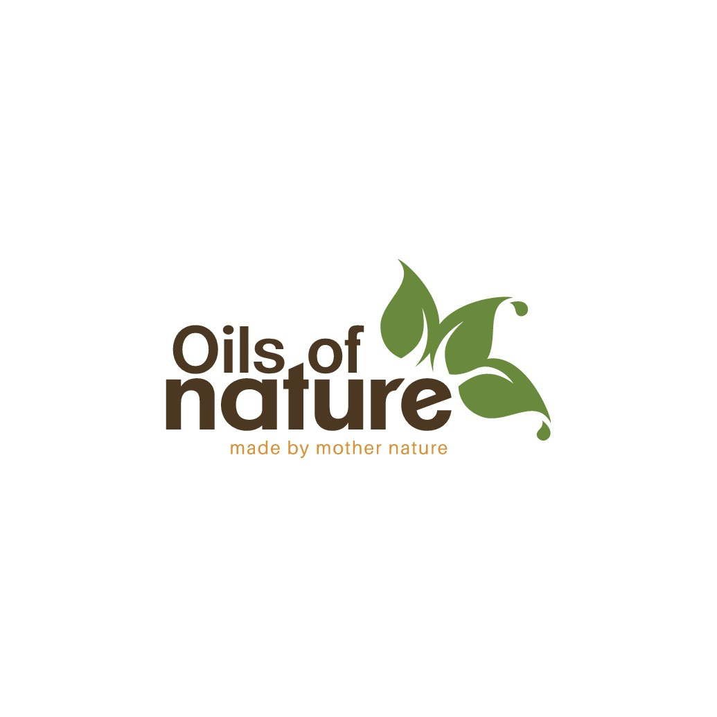 New Essential Oils Cosmetic Beauty Logo