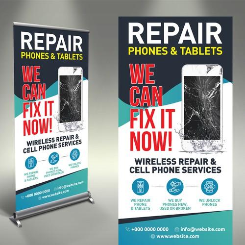 Phone Repair Poster