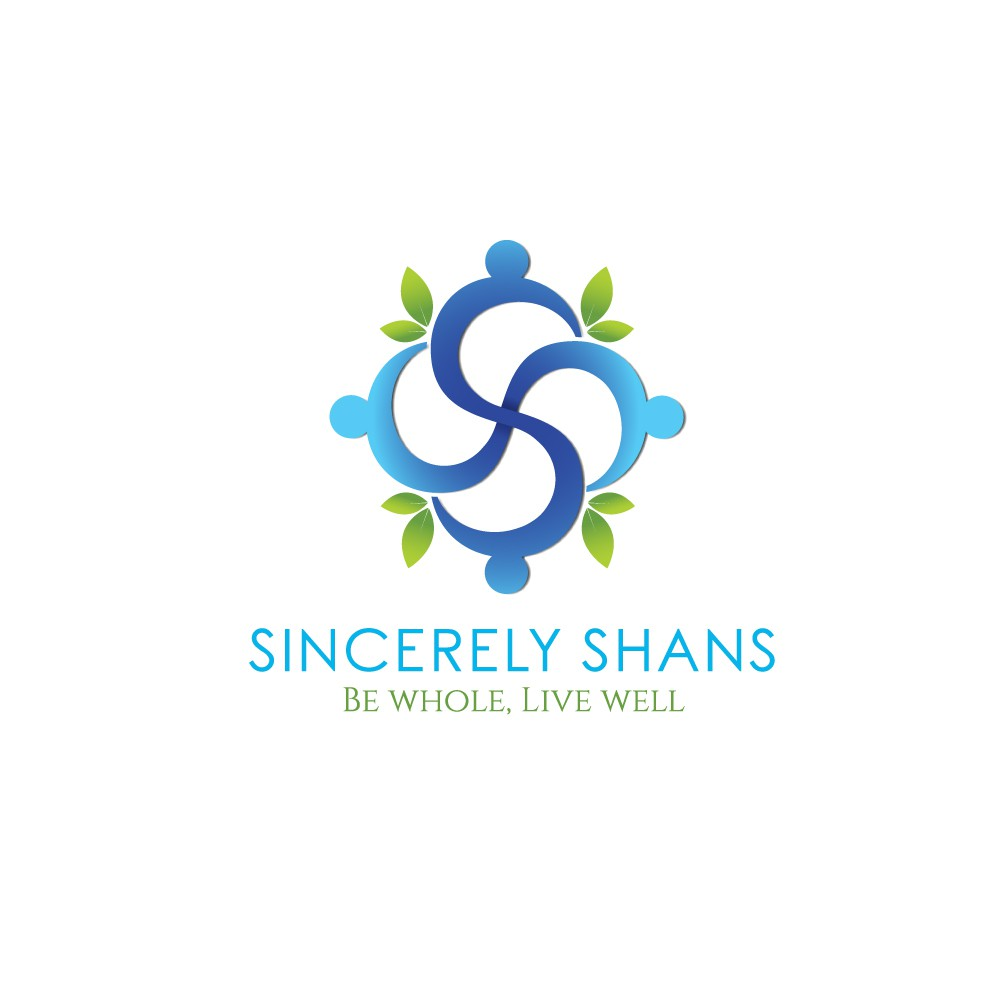 A logo for my health and wellness blog.