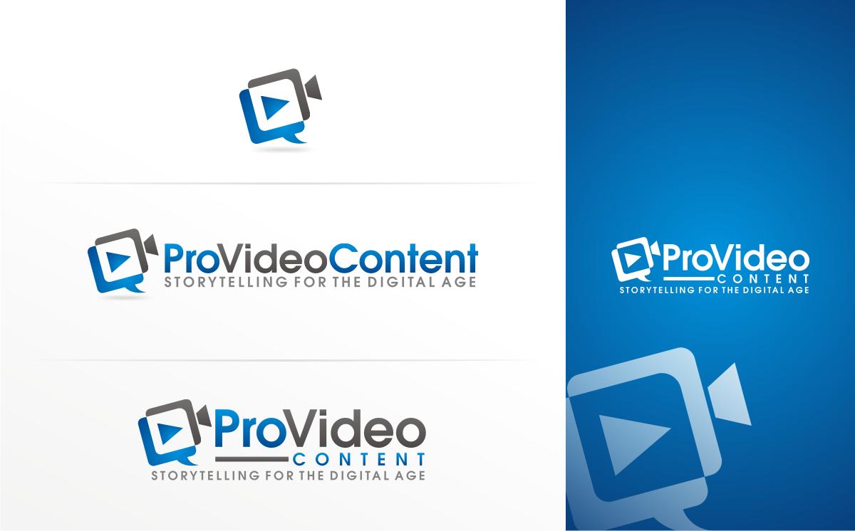 Pro Video Content needs a new logo