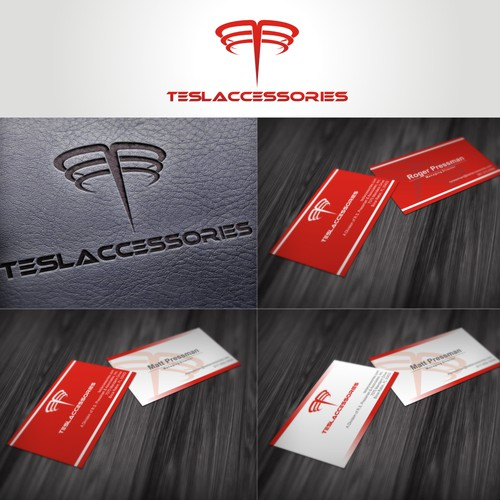 New logo and business card wanted for teslaccessories.com