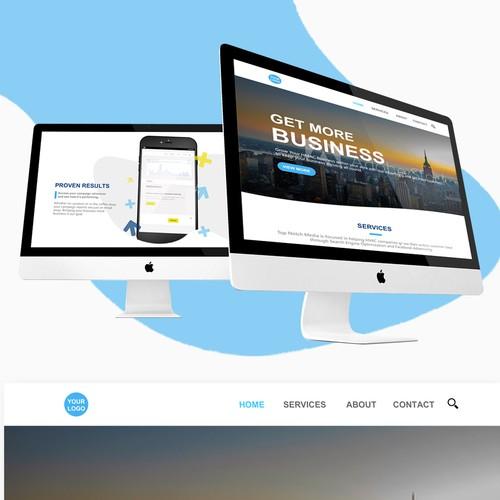 Advertising Agency Web Design Contest 1