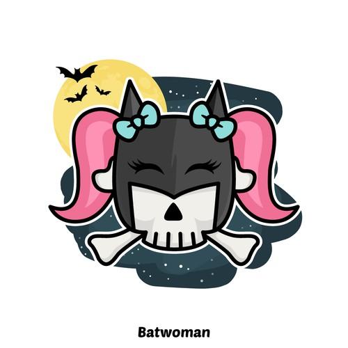 Batwoman - Skull