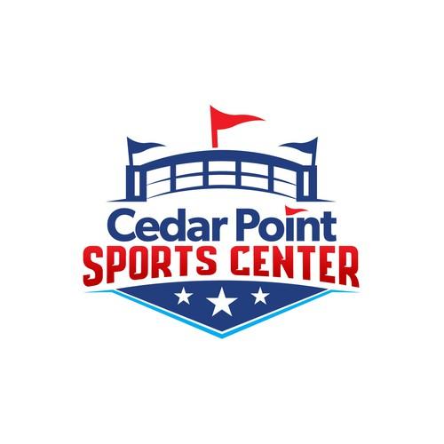 Cedar Point Sports Center logo
