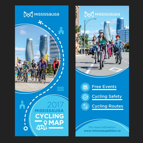 Flyer design for Mississauga city