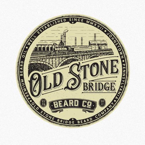 Old stone bridge beard company