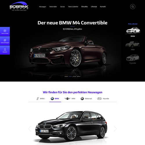 Concept > Homepage Car Dealer