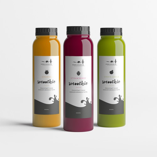 Label Design for Juice