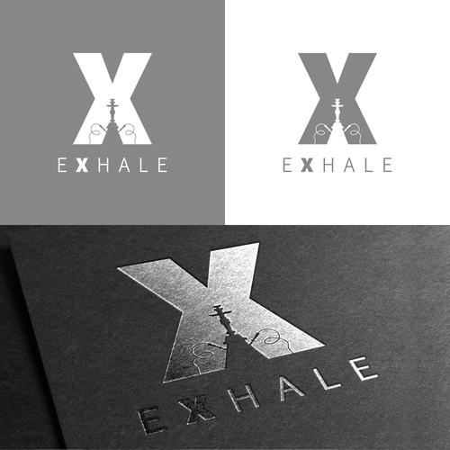 Logo for EXHALE Shisha & Vape Shop