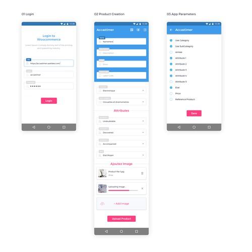 UI/UX Screen