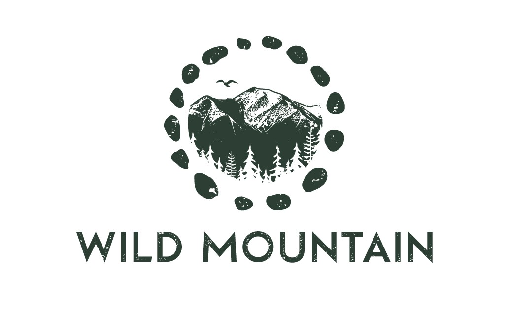 Wild & Nature Based Logo and Website for Wild Mountain Retreats