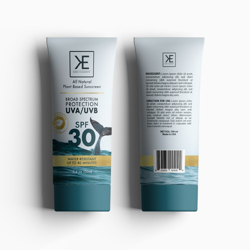 KORE ELEMENT NATURAL SUNSCREEN