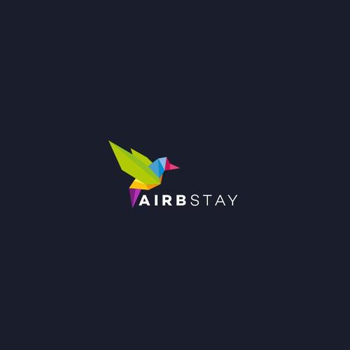 AirbStay Logo Design