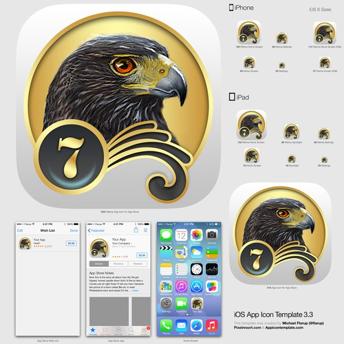 Create a splash screen and icon for iBird Ultimate for the iPhone