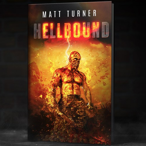 Book about humans waging war in hell