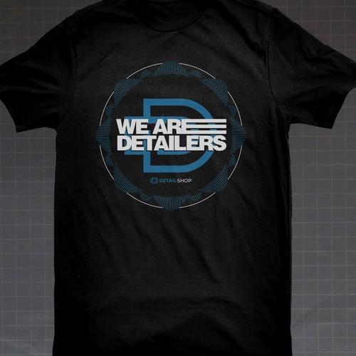 Detail Shop - T-shirt design