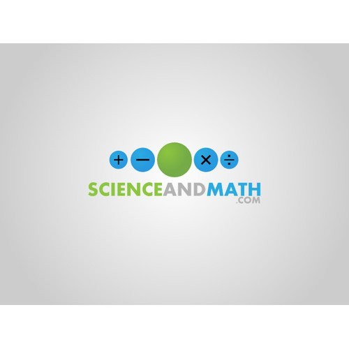 science and math logo