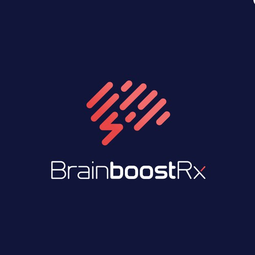 """Simple logo for a potential nootropic supplement, which are also known as """"smart drugs"""" or """"cognitive enhancers""""."""