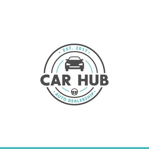 Badge-Type Logo for Car Dealership
