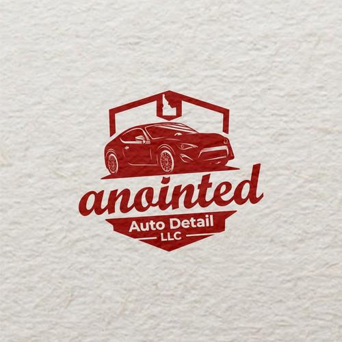 Auto Detail Sport Car Logo Design