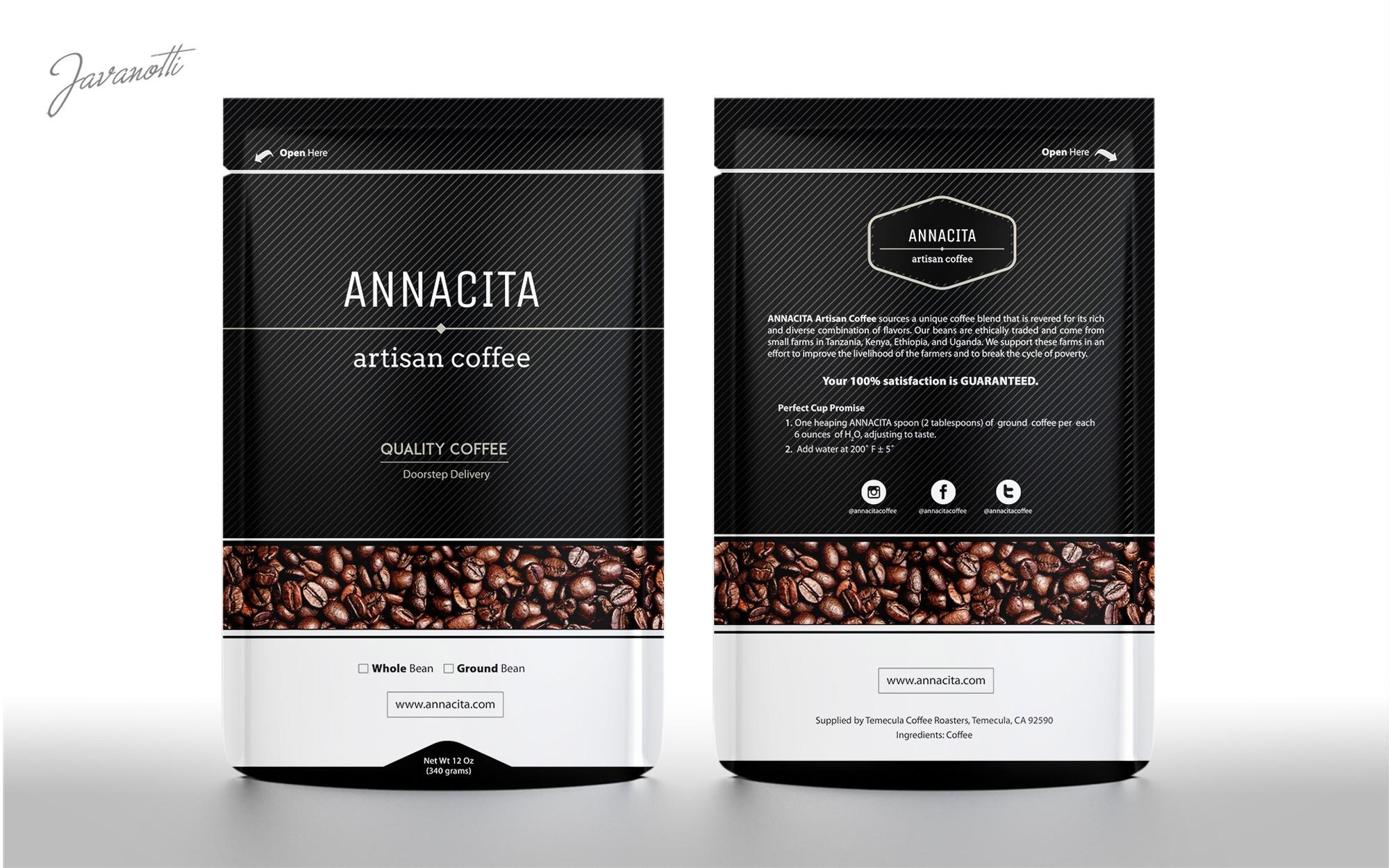 Design a Kick A$$ Coffee Bag :-)